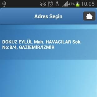 Pınar Su Sipariş uygulaması