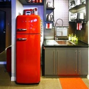 Renkli Buzdolabı Modelleri ile Dekorasyon Fikirler