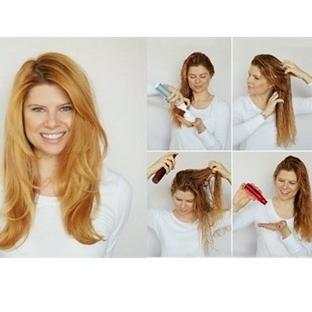 Saçlara Nasıl Hacim Kazandırılır? (Resimli Anlatım