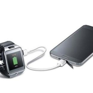 Samsung Galaxy S5 ile Gear S'i Şarj Etmek Artık Mü