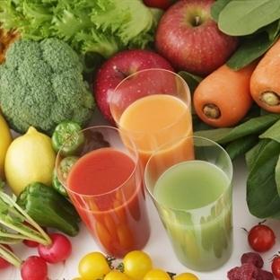 Sebze Meyve Suyu Diyeti İle Zayıflayın
