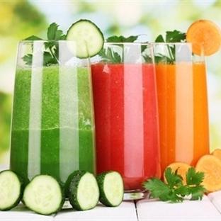Sebze Suyu ile 2 Haftada 4 Kilo Verebilirsiniz