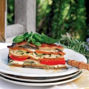 Sebzeli cheesecake
