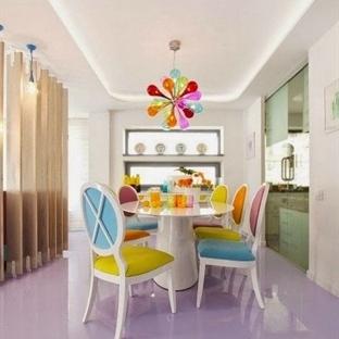 Sıcacık Renklerle Isıtan Ev Dekorasyonu