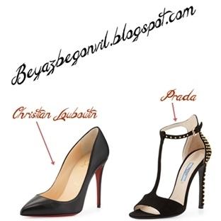 Siyah Topuklu Ayakkabılar Olmadan Asla !