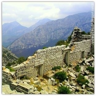 İskender'in fethedemediği Kartal Yuvası:Termessos