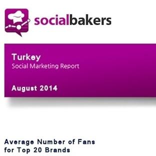 Socialbakers Ağustos 2014 Sosyal Medya Raporu Açık