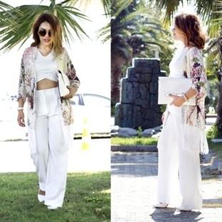 Sonbahar Kimono Modası