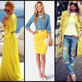 Sonbahar Moda Renkleri Sarılar, Yeşiller, Kahveler