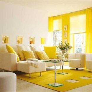 Sonbaharda Evinizi Aydınlatacak Sarı Dekorasyonlar