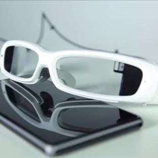 Sony'nin Google Glass Rakibi Akıllı Gözlüğü Yola Ç