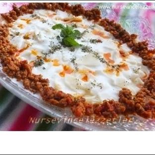 Tatar Mantı Yoğurtlu Hamur