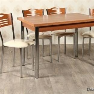 Tekzen mutfak masası ve sandalye modelleri