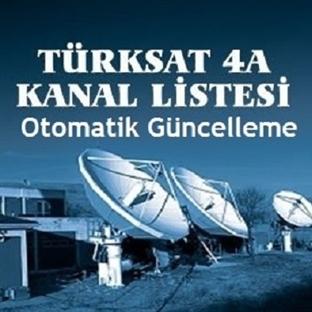 Türksat 4A Otomatik Arama Frekansı