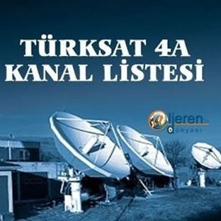 Türksat 4A'ya kanal geçişleri