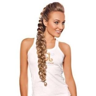 Uzun Saçlar İçin Harika Örgü Modeli