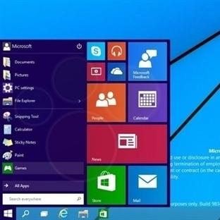Windows 9'dan Son Görüntüler