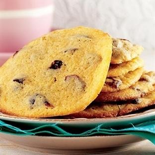 Yaban mersinli bisküvi