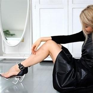 Yeni Trend: Şeffaf Topuklu Ayakkabılar