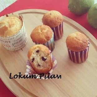 Yeşil Limonlu Çikolatalı Muffin