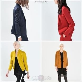 Zara 2015 Kış Ceket Modelleri