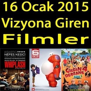16 Ocak 2015 Cuma Vizyona Giren Filmler