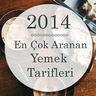 2014'ün en çok aranan yemek tarifleri