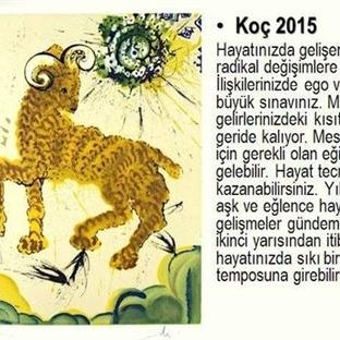 2015 Yılı Burç Kartları