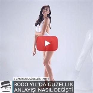 3000 Yıldır Kadının Güzellik Ölçütleri