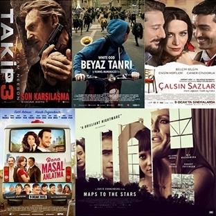 9 Ocak 2015 Cuma | Vizyona Giren Filmler