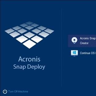 Acronis Snap Deploy 5 Kurulumu ve Kullanımı