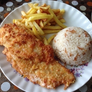 Akşam Yemeğine Tavuk Şinitzel