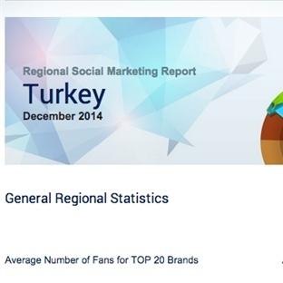 Aralık 2014 Türkiye Sosyal Medya Raporu