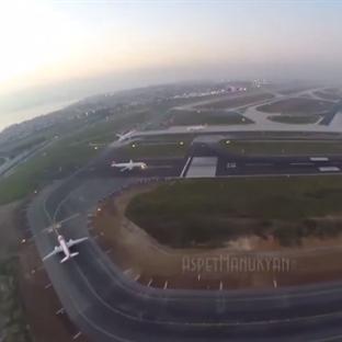 Atatürk Havalimanı Üzerinde Drone Skandalı