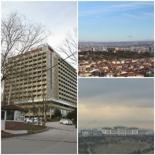Başkent Öğretmenevi - Ankara Panoraması