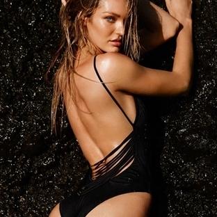 Baştan çıkarıcı Victoria's Secret Deniz moda filmi