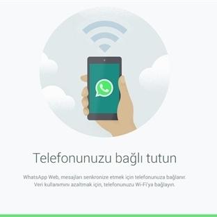 Bilgisayardan WhatsApp' ı Kullanmak