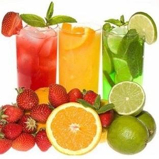 Bir bardak meyve suyundan alınacak ders
