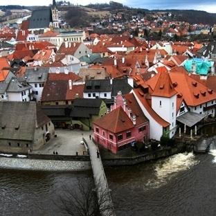 Bir Ortaçağ Şehri: Český Krumlov