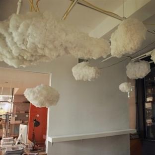 Bulut Tasarımlı Avize
