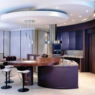 Büyüleyici açık mutfak tasarımları