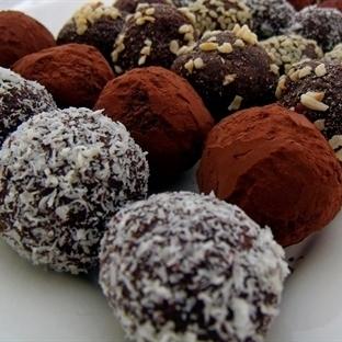 Çikolata Severler İçin Portakallı Trüf