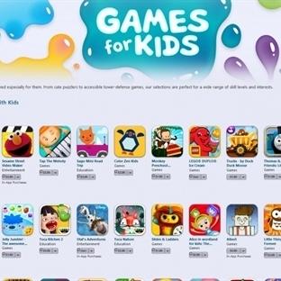 Çocuklar İçin Özel Apple Store