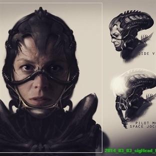 District 9'ın yönetmeninden Alien çizimleri