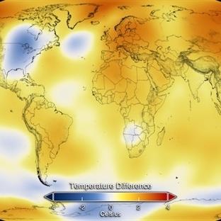 Dünya'da Sıcaklık Rekoru Kırıldı