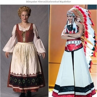 Dünyadan Yöresel Kıyafetler