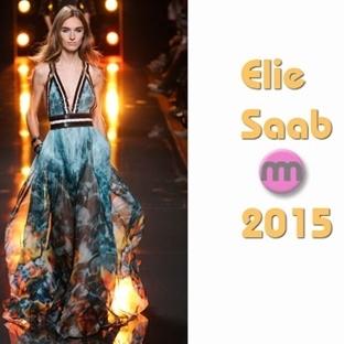 Elie Saab 2015 İlkbahar Yaz Elbise Modelleri