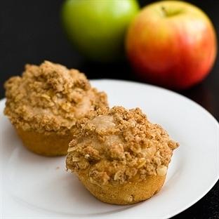 Elmalı Muffin Kek Yapımı