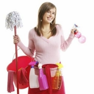 Evde temizlik kısır yapıyor!