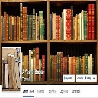 Facebook 'da Ki Yeni Çılgınlık; A Year Of Books
